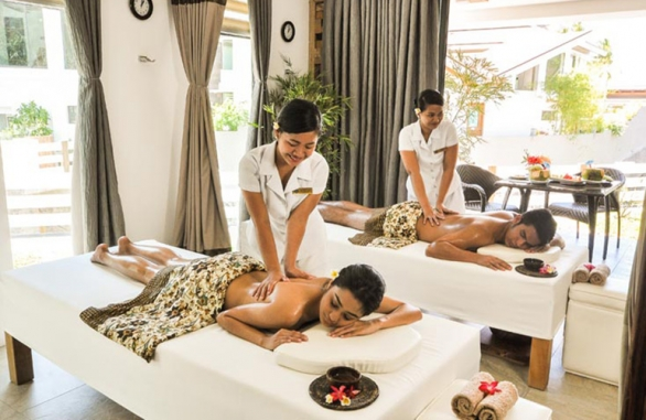 Malasimbo Spa Massage Room