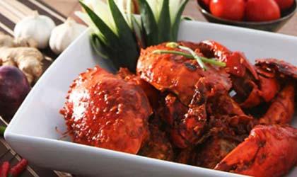 crab-dish
